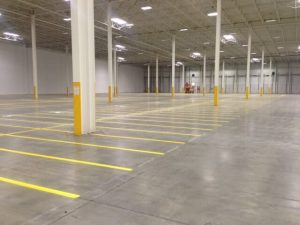 Indoor Warehouse - After Line Striping 3