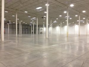 Indoor Warehouse - Before Line Striping