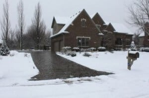 5 Quick Tips on Maintaining your Driveway in the Winter