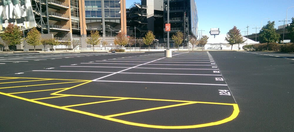 Asphalt Paving Striping Your Parking Lot