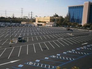 Parking Lot Striping July '16