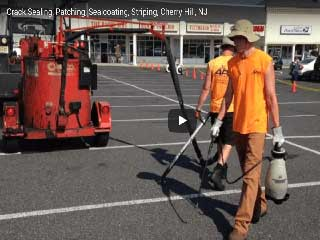 Crack Sealing, Infrared Patching, Sealcoating, Striping, Cherry Hill, NJ