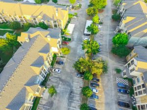 apartment complex parking lot repair mercer county