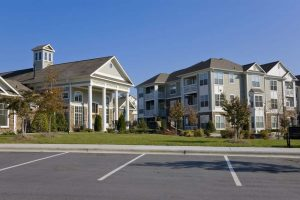 apartment complex parking lot repair Montgomery county